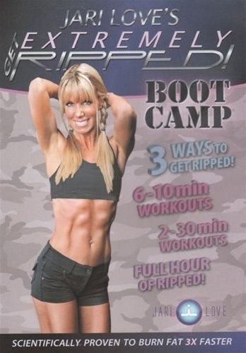 Jari Love Get Extremely Ripped Bootcamp DVD