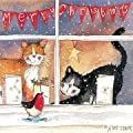 A five card pack of quality Christmas Cards published by Alex Clark Art. Produced from Alex Clark's original watercolour's capturing animals and country life in her own unique style, heartwarming and fun. A Charity donation is made by the pub...