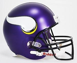 NFL Minnesota Vikings Deluxe Replica Helmet by Riddell