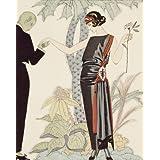 Esperez: Robe du Soire, du worth, from Gazette du Bon Ton (V&A Custom Print)
