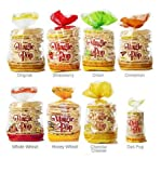 Kim&#8217;s Magic Pop Combo Pack B 12-Pack: Freshly Popped Rice Cakes, Healthy Grain Snack, 0 Weight Watchers Point