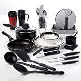 Gibson Home Complete Kitchen Cookware 38-Piece Combo Set