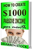MAKE MONEY ONLINE: How to Create $1000 Passive Income Per Month Recording 5 Minute Videos (Passive Income Series)