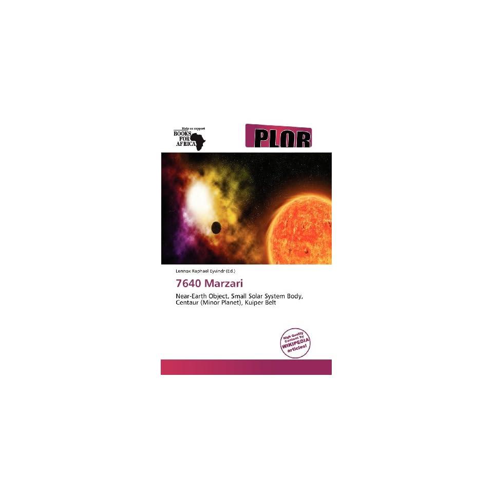 7640 Marzari (9786138860440) Lennox Raphael Eyvindr Books