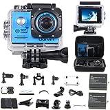 Action Cam WiFi Full HD Unterwasserkamera Digital Wasserdicht 2.0 Zoll
