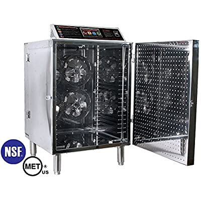 TSM Commercial Grade Stainless Steel D-20 Digital Touch Screen Food Dehydrator from TSM Products