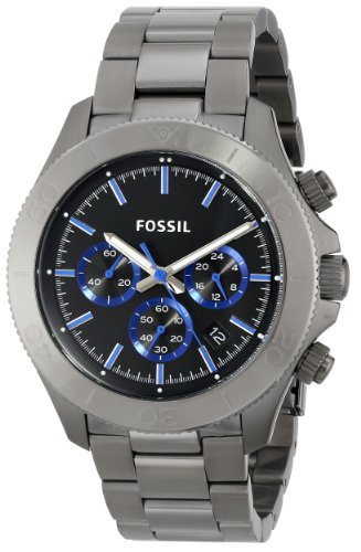 Fossil Men's CH2869 Retro Traveler Analog Display Analog Quartz Grey Watch