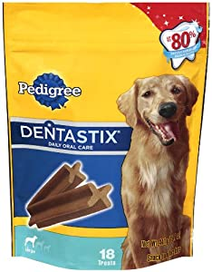 Pedigree Dentastix Oral Care Treats for Dogs, 15.6-Ounce (Pack of 2)