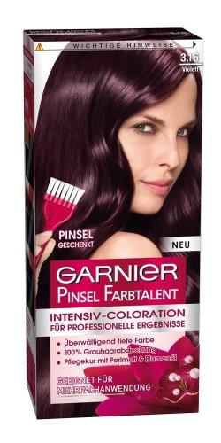 2x Garnier intensivo talento pennello colore viola colorazione 03:16