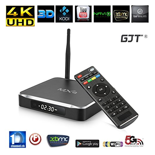Buy Discount GJT®M10 Android TV Box Fully Loaded Amlogic S812 4K HD Quad Core KODI(XBMC) 2G RAM/8G ...