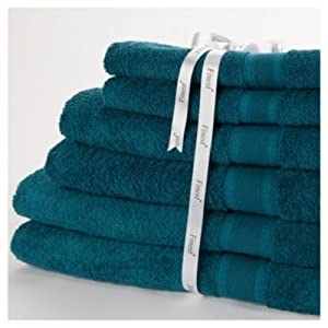 Towel Bale Finest Range Teal 2 Bath 2 Hand Amp 2 Face
