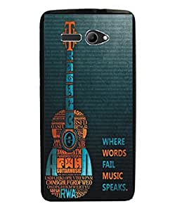 Techno Gadgets Back Cover for Intex Aqua 3G Strong