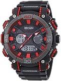 Nautec No Limit Herren-Armbanduhr Analog Digital Quarz Kunststoff AK QZ-AD/PCBKPCGYBK-RD