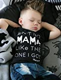Newborn Baby Boy Clothes T-shirt Top Tee +Denim Pants Outfits Set 18-24 Months)