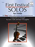 img - for First Festival Solos for Violin (20 Easy Solos with Piano Accompaniments) book / textbook / text book