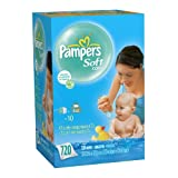 Pampers SoftCare Unscented 10X Wipes 720 Count