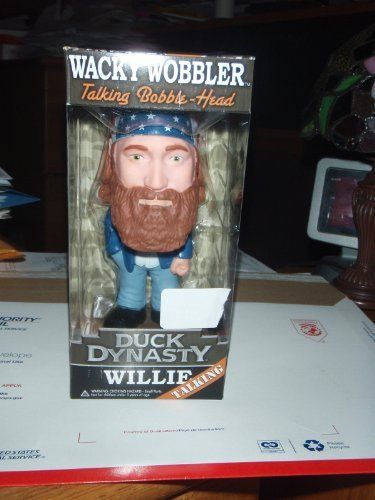 Funko Duck Dynasty Willie Wacky Wobbler Talking Bobble-Head