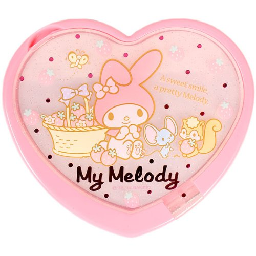 My-MelodyStrawberry-heart-mirror-mirror