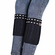 WILLTOO® 2015 Women Leg Warmer Knit Boot Socks Topper Cuff