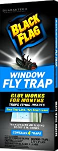 Black Flag Window Fly Trap, 4 CT