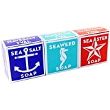 Swedish Dream 3 Pack Mix Set (Sea Salt + Seaweed + Sea Aster) Soap Bar 4.3oz USA