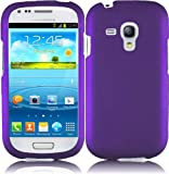 For Samsung Galaxy S3 Mini i8190 Hard Cover Case Dark Purple Accessory