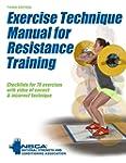 Exercise Technique Manual for Resista...