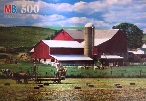 Croxley 500 Piece Farmerstown, OH Puzzle - 1