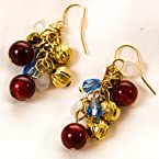 Americana Cluster Earrings