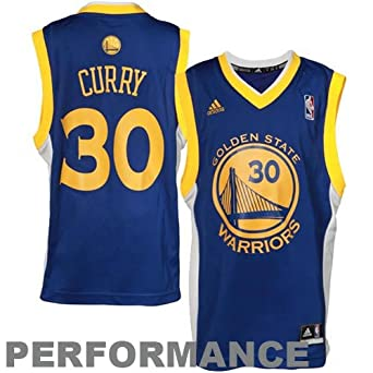 NBA Golden State Warriors Stephen Curry Replica Road Jersey - R28E6Zzq Youth by adidas