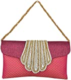 Novelty Bags Women's Clutch (Red, NOVELTY BAGS_3)