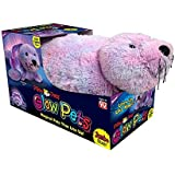Pillow Pets Jumbo Size Shimmering Seal Glow Pets