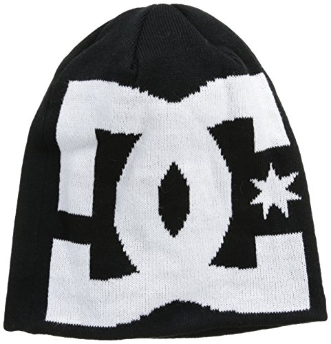 dc-shoes-sport-mens-insignia-m-beanie-heather-grey-grey-caviar-sizefr-taille-unique-taille-fabricant