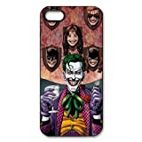 Joker Batman Apple iPhone 5 5S Case Cover Protecter - Retail Packaging - Durable Plastic