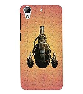 FUSON 3D Designer Back Case Cover for HTS Desire 626 - D9424