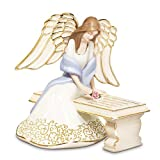 With You Always Collectible Porcelain Angel Figurine by The Bradford Exchange ~ Bradford Exchange