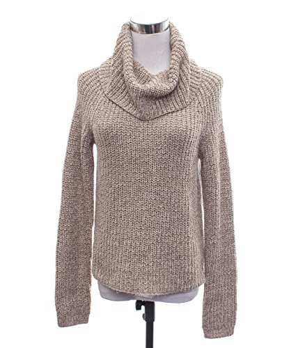 Mossimo Cowl Neck Tunic Sweater Gray Marled Yarn Sequin Embellished (Small, Oat Meal) (Gray Cowl Neck Sweater compare prices)