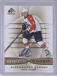 Aleksander Barkov Florida Panthers (Hockey Card) 2013-14 SP Game Used Edition Autographs [Autographed] #160