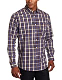 U.S. Polo Assn. Mens Yarn Dyed Checkered Shirt