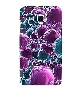 ANIMATED GLOWING CIRCULAR PATTERNS 3D Hard Polycarbonate Designer Back Case Cover for Samsung Galaxy J3 :: Samsung Galaxy J3 J300F