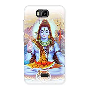 Gorgeous Blessings Of Shiva Back Case Cover for Honor Bee