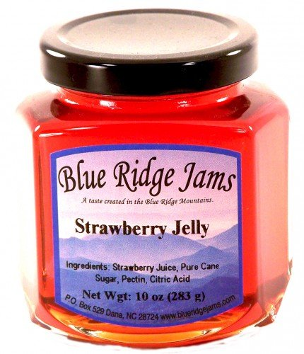 Blue Ridge Jams: Strawberry Jelly, Set of 3 (10