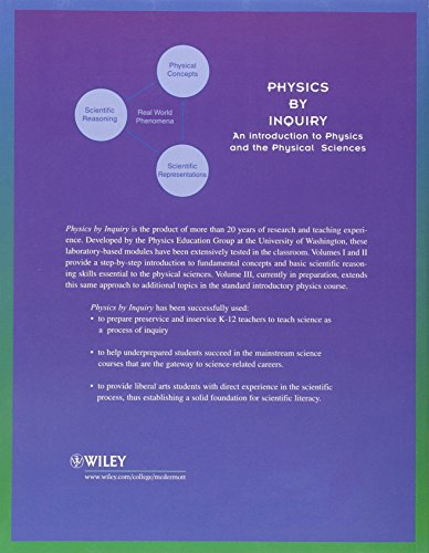 Physics by Inquiry: An Introduction to Physics and the Physical Sciences