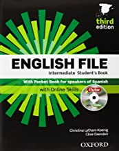 English File. Intermediate Student's Book + Workbook  + Entry Checker (con clave) (English File Third Edition)