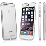 BoxWave Almost Nothing iPhone 6 Plus Case - Slim Hybrid Hard Clear Case with TPU Bumper Rim - 10,000+ Sold! (Crystal Clear)