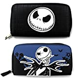 Nightmare Before Christmas Jack Zipper Wallet