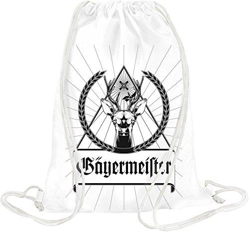 jagermeister-black-logo-drawstring-bag