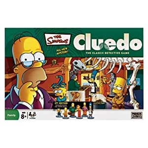 Simpsons Cluedo!