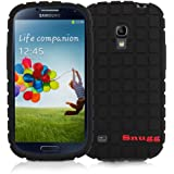Snugg Galaxy S4 Silicone Skinny Case Cover in Black - Ultra Slim, Non Slip Material Protective and Soft to Touch for the Samsung Galaxy S4
