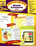 Take It to Your Seat Math Centers, Grades 3-4